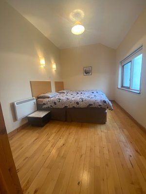 main bedroom of no 2 carleton village