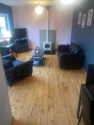 sitting room of no 2 carleton village